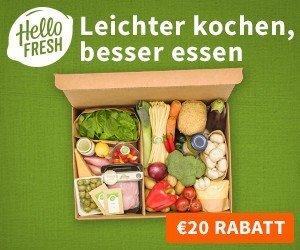 Hello Fresh möchte Ihnen Ihren Alltag erleichtern, und verlost bei diesem Gewinnspiel Hello Fresh-Kochboxen im Wert von 500 EUR!