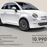 KOSTENLOSE Fiat 500 Probefahrt + 2.500 EUR Bonus!