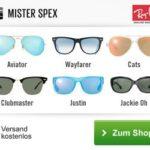 Mister Spex Gutschein für Brillen und Kontaktlinsen
