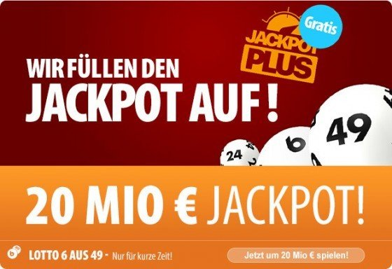Tipp24 Lotto Mittwoch 20 Mio Jackpot
