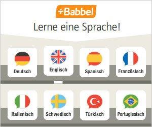 """Bekannt durch Funk und Fernsehen: Mit """"Babbel"""" eine Sprache lernen, und bei uns gibt es einen kompletten Kurs kostenlos!"""