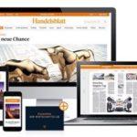 Handelsblatt digital: 8 Wochen KOSTENLOS!