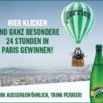 Paris Gewinnspiel – mit Perrier einen Tag in Paris GEWINNEN