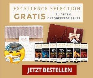 Lindt Chocoladen Club: KOSTENLOSE Zugabe im Wert von 26,99 EUR sichern!