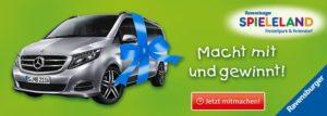 Mercedes V-Klasse i. W. v. 54.000 EUR zu GEWINNEN beim Ravensburger Spieleland
