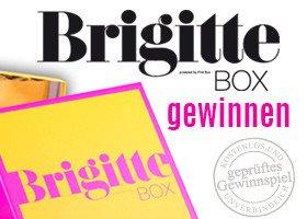 Gewinnen Sie bei diesem Kosmetik-Gewinnspiel 1 von 6 Überraschungspaketen von Brigitte, prall gefüllt mit Kosmetik, einem Accessoire und einer Köstlichkeit!