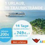 Inselhopping in der Karibik inkl. 200 Euro Bordguthaben