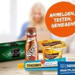 Nestle-Marktplatz: Produkttester + Gewinnspiele-Teilnehmer gesucht (wieder da!)