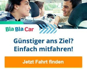 Mitfahrgelegenheiten BlaBlaCar