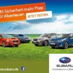 Subaru Probefahrt kostenlos vereinbaren