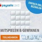 paysafecard-Guthaben zu gewinnen