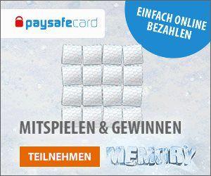 Paysavecard verlost beim End of Year-Gewinnspiel paysafecard-Guthaben. 5 paysafecard Pins im Wert von je 100 EUR und 200 im Wert von je 10 EUR.