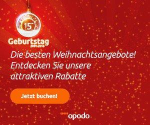 100 EUR Opodo Gutschein für Ihre nächste Reise sichern: Opodo Gutschein für Reisen einlösen und billiger fliegen!