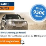 KFZ-Versicherung vergleichen, bis zu 950 EUR sparen