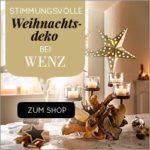 Wenz: 4 x 250 EUR Einkaufs-Gutscheine gewinnen