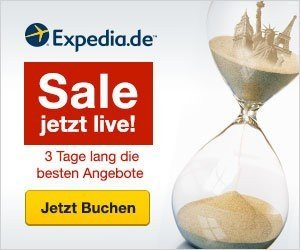 Besuchen Sie jetzt den 72 h Sale von Expedia.de und entdecken Sie Reisen zu unverschämt günstige Preisen. Lassen Sie sich diese Angebote nicht entgehen!