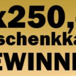 250 Euro Geschenkkarte von Media Markt GEWINNEN