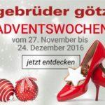 1000 EUR-Schuhgutschein gewinnen bei Gebrüder Götz