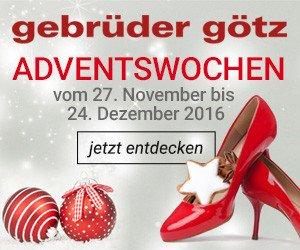 Gewinnen Sie jetzt einen 1000 EUR-Schuhgutschein beim Gebrüder Götz Schuhberraschung-Gewinnspiel!
