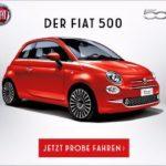 Fiat 500 Probefahrt kostenlos vereinbaren