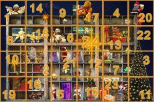 Auch 2016 warten beim buchgeschenkefinder Adventskalender-Gewinnspiel 24 Preise auf Sie: Freuen Sie sich auf Lesespaß pur in Form von Büchern!