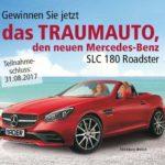 Bader: Mercedes-Benz SLC 180 Roadster gewinnen!