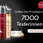 Olaz sucht 7.000 Produkt-Testerinnen – jetzt bewerben!