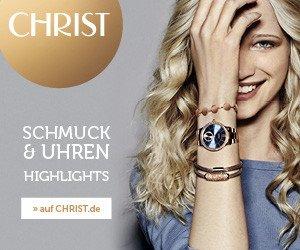 Valentinstag bei Christ: Bei Christ Juweliere und Uhrmacher zusätzliche 20% Rabatt auf reduzierte Artikel der CHRIST Eigen- und Exklusivmarken einstreichen - der Valentinstag naht!