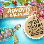 Urlaubsguru Adventskalender-Gewinnspiel: 24 Traumreisen!