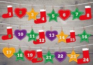 Auch 2017 warten beim Aldi Adventskalender-Gewinnspiel 24 Preise auf glückliche Gewinner. Freuen Sie sich jeden Tag auf einen neuen attraktiven Preis bei Aldi