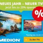 TV Woche bei Medion – satte Rabatte
