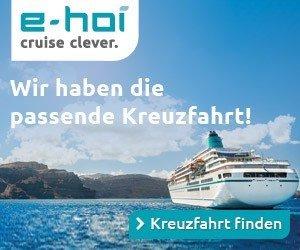 Machen Sie mit beim e-hoi Weihnachts-Gewinnspiel, und sichern Sie sich eine Luxus-Kreuzfahrt sowie viele weitere Preise rund um das Thema Schiffsreisen