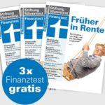 """""""Finanztest"""" 3 x KOSTENLOS und iPad Pro GEWINNEN"""