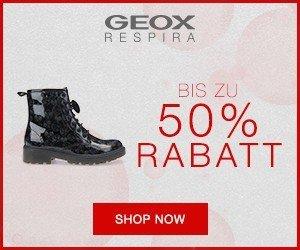 Im Geox Winter-Sale 2017 bekommen Sie einen starken Rabatt von bis zu 50 Prozent auf aktuelle Schuhe der Winterkollektion im Sale.