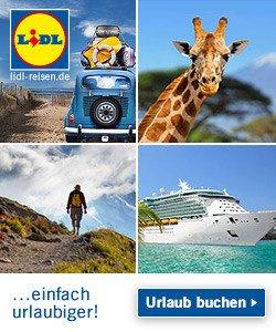 Nehmen Sie jetzt am Newsletter Gewinnspiel von Lidl teil, und gewinnen Sie eine 8-tägige Süditalien Rundreise inkl. Flügen, Transfers und Hotel.