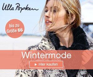 Im Ulla Popken Winter Sale tolle Schnäppchen machen: Im Ulla Popken-Onlineshop finden Sie Mode bis zu Größe 64 für Damen und Herren.