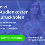Online-Steuererklärung für Studenten: In 15 Minuten die Studienkosten zurückholen – KOSTENLOS testen!