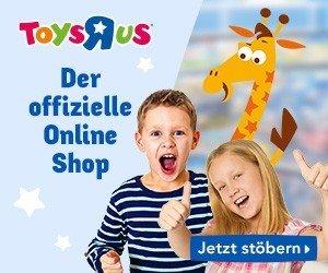 """BeimToys""""R""""Us Wunschzettel-Gewinnspiel können Sie jetzt einen von insgesamt 100 Einkaufs-Gutscheinen im Gesamtwert von 5.000 EUR gewinnen."""