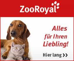 ZooRoyal bietet ein umfassendes Sortiment an Tierbedarf, Tierfutter, Haustierkost und hochwertigem Tierzubehör, sowohlfür Hund, Katze, Vögel, Pferde und Kleintiere als auch für Ihr Terrarium, Aquarium und den Gartenteich. Bei KOSTENLOS.de finden Sie eine aktuelle Übersicht aller Gutscheine und Angebote. HIER KLICKEN!