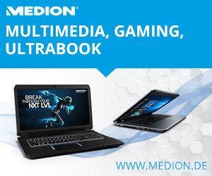 Jedes Wochenende können Sie sich beim Medion Weekend Sale auf tolle Rabatte freuen. Rabatte von bis zu 30% versüßen dabei jedes Wochenende!