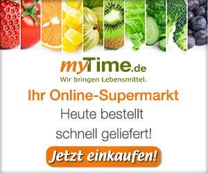 Mit einem myTime.de Gutschein können Sie Lebensmittel und mehr ganz bequem online bestellen und günstig zu sicher liefern lassen!