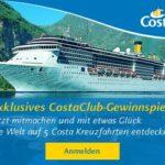 Exklusives Costa Kreuzfahrten-Paket gewinnen!