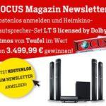 Heimkino-Lautsprecher-Set von TEUFEL gewinnen