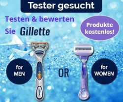 gillette rasierer gratis testen. Black Bedroom Furniture Sets. Home Design Ideas