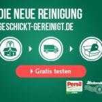 Persil Textilreinigung entdecken und 10 EUR für die erste Reinigung GESCHENKT!