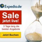 Reisen mit Rabatt beim 72 h Sale von Expedia