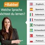 Babbel-Sprachkurs KOSTENLOS testen!