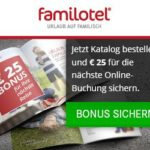 25 EUR-Bonus bei familotel sichern