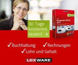 4 Wochen Lexware KOSTENLOS testen: Buchhaltung, Rechnungen, Mahnwesen, Lohn & Gehalt sowie TAXMAN für die Steuererklärung. Kaufmännische Software vom Profi.