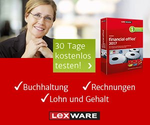 4 Wochen Lexware KOSTENLOS testen: Buchhaltung, Rechnungen, Mahnwesen, Lohn & Gehalt sowie TAXMAN für die Steuererklärung. Kaufmännische Software vom Profi.